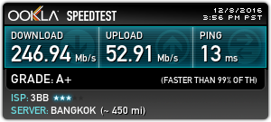 3bb speedtest