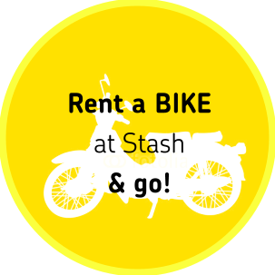 Rent a bike at STASH & go!